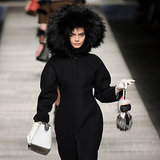 Cara Delevingne Has Karl Lagerfeld's World on a String at Fendi