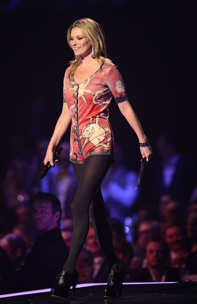 Kate Moss at the 2014 Brit Awards