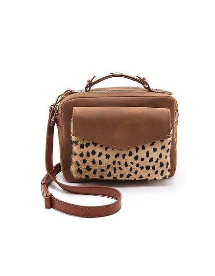 Madewell Leopard Print Bag