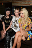 Katy Perry and Rita Ora With Moschino Creative Director Jeremy Scott