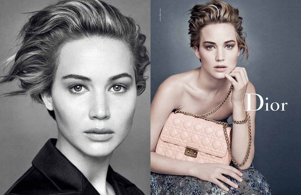 Jennifer Lawrence For Miss Dior