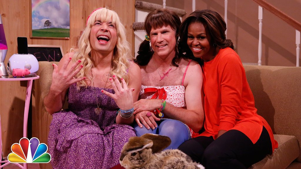 """Ew!"" With First Lady Michelle Obama and Will Ferrell"