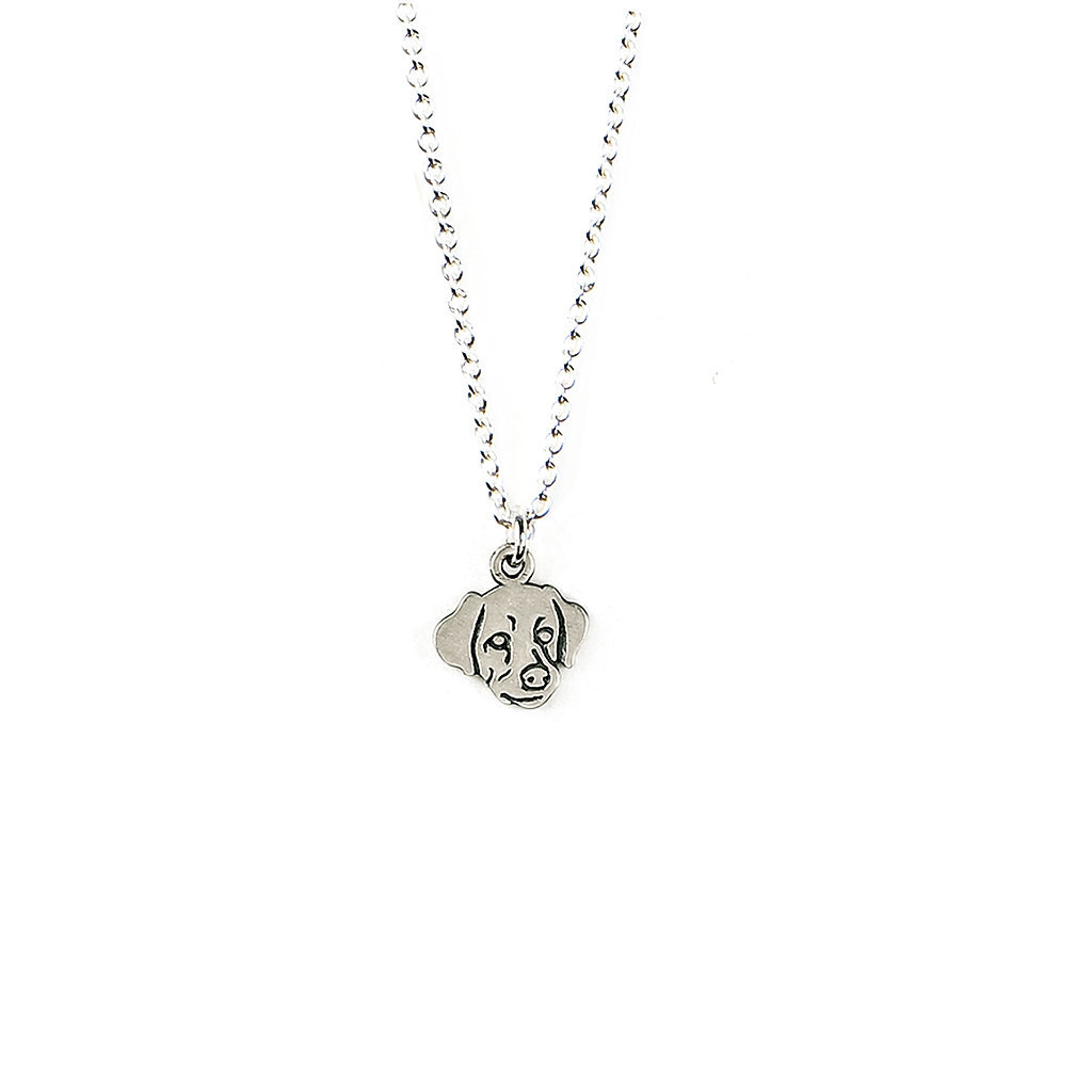 Wag by Dogeared Lab Sterling Silver Necklace ($48)
