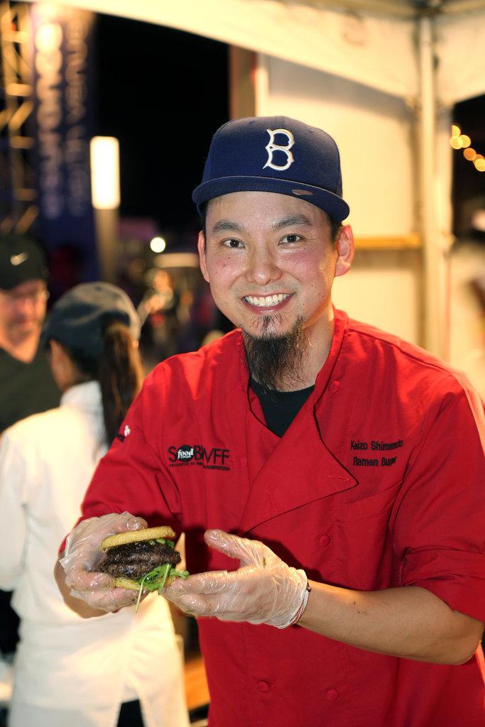 Chef Keizo Shimamoto