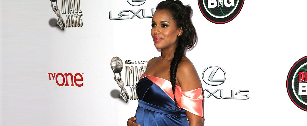 Kerry Washington Is Officially a Maternal Goddess