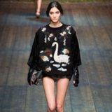 Dolce & Gabbana Fall 2014 Runway Show | Milan Fashion Week