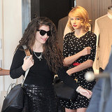 Lorde and Taylor Swift Shopping in Hollywood
