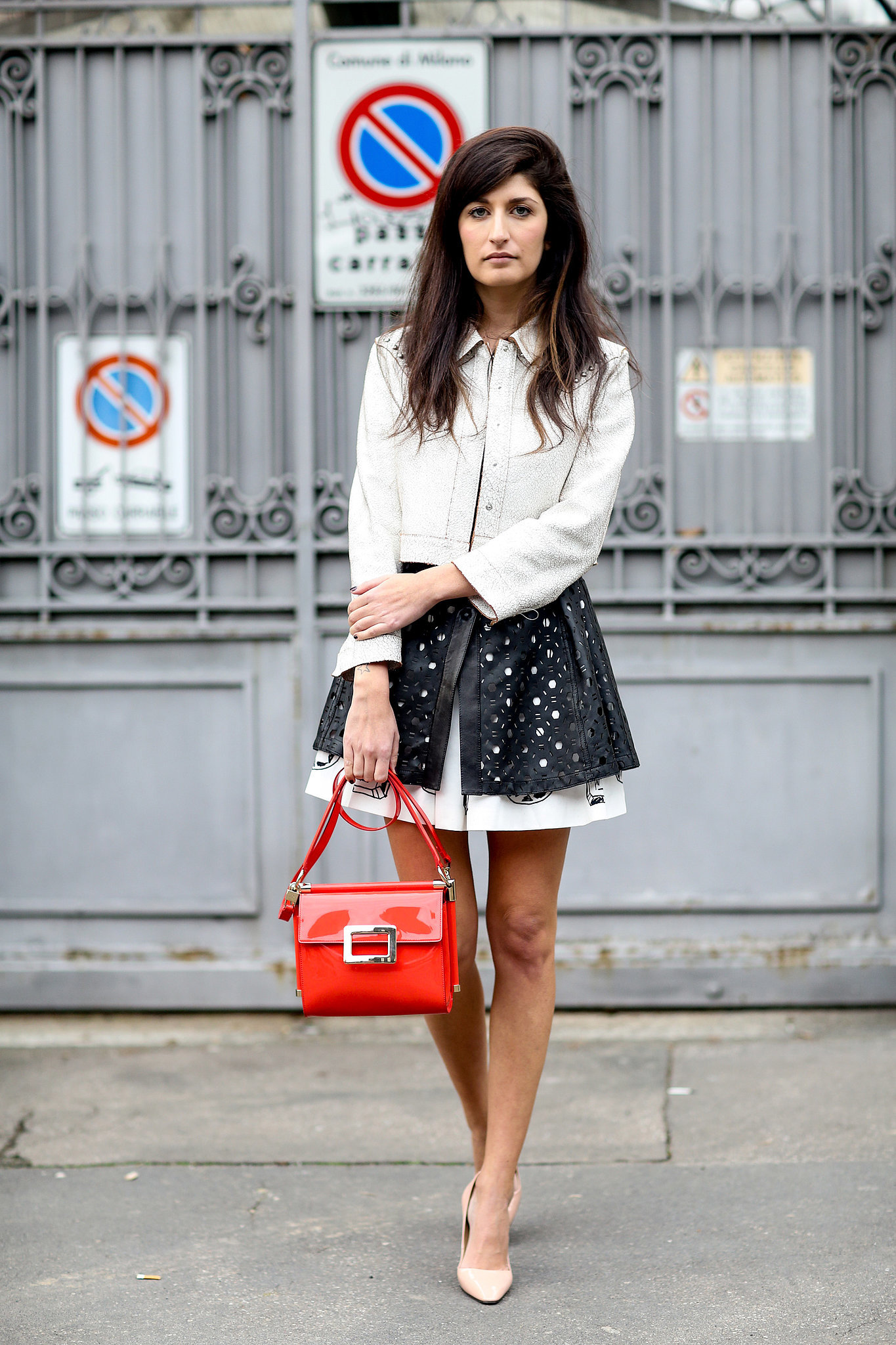 Milan Fashion Week Street Style Over 100 Of Milan 39 S Chicest Street Style Outfits Popsugar