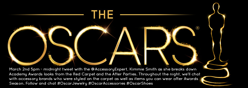Oscar Academy Awards Live Tweeting Red Carpet #OscarJewelry #OscarAccessories #OscarShoes Accessory Expert Kimmie Smith