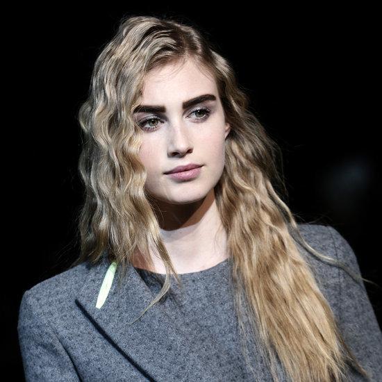 How To DIY Crimped Hair Giorgio Armani Milan Fashion Week