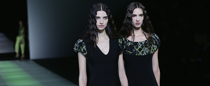 Giorgio Armani's Moved On to Greener Pastures For Fall