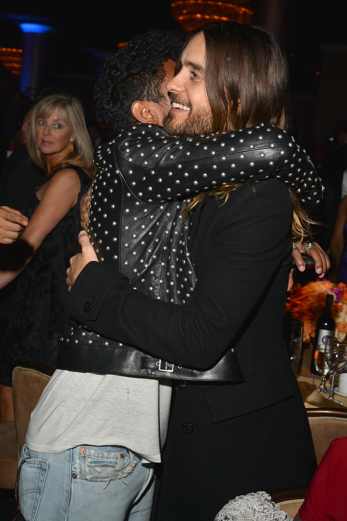 Then Jared Hugged Miguel at the Grammys