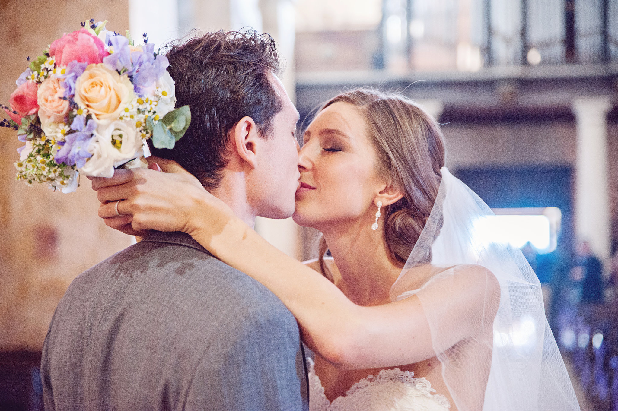 "The ""I Do"" Kiss"