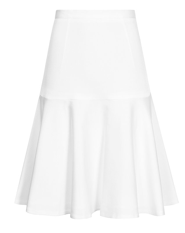Reiss Fifi White Trumpet Skirt ($154, originally $230)