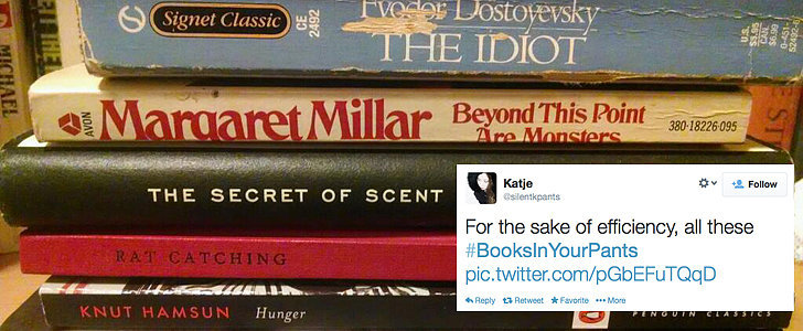 The Best #BooksInYourPants Tweets