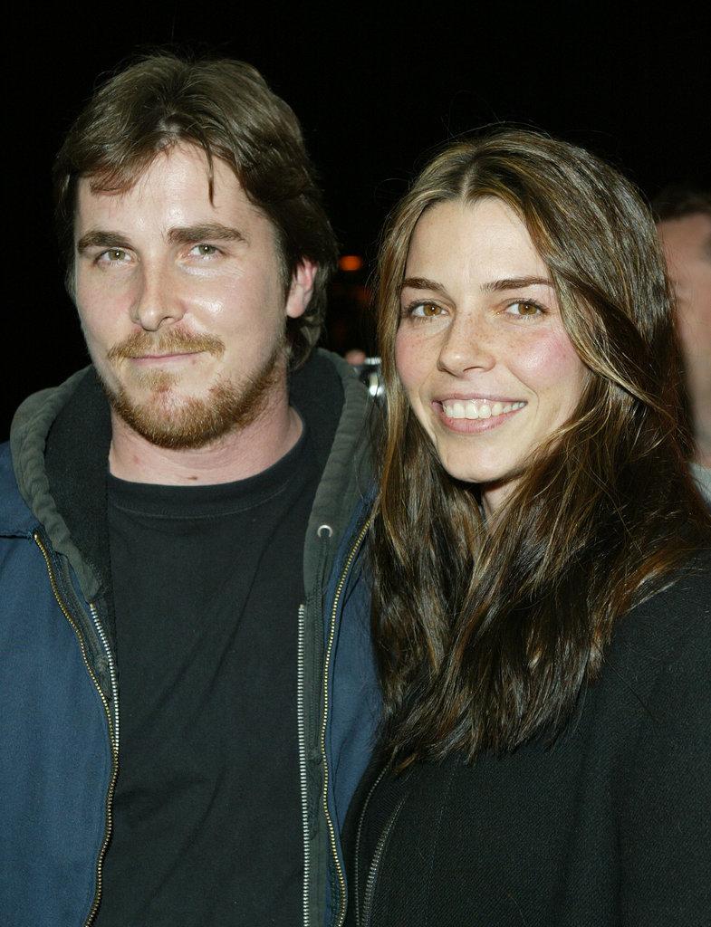 Christian Bale and Sibi Blazic bundled up for the Sundance Film Festival in January 2004.