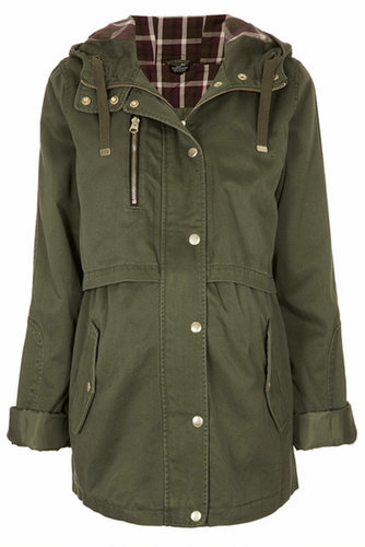 Topshop Hooded Parka