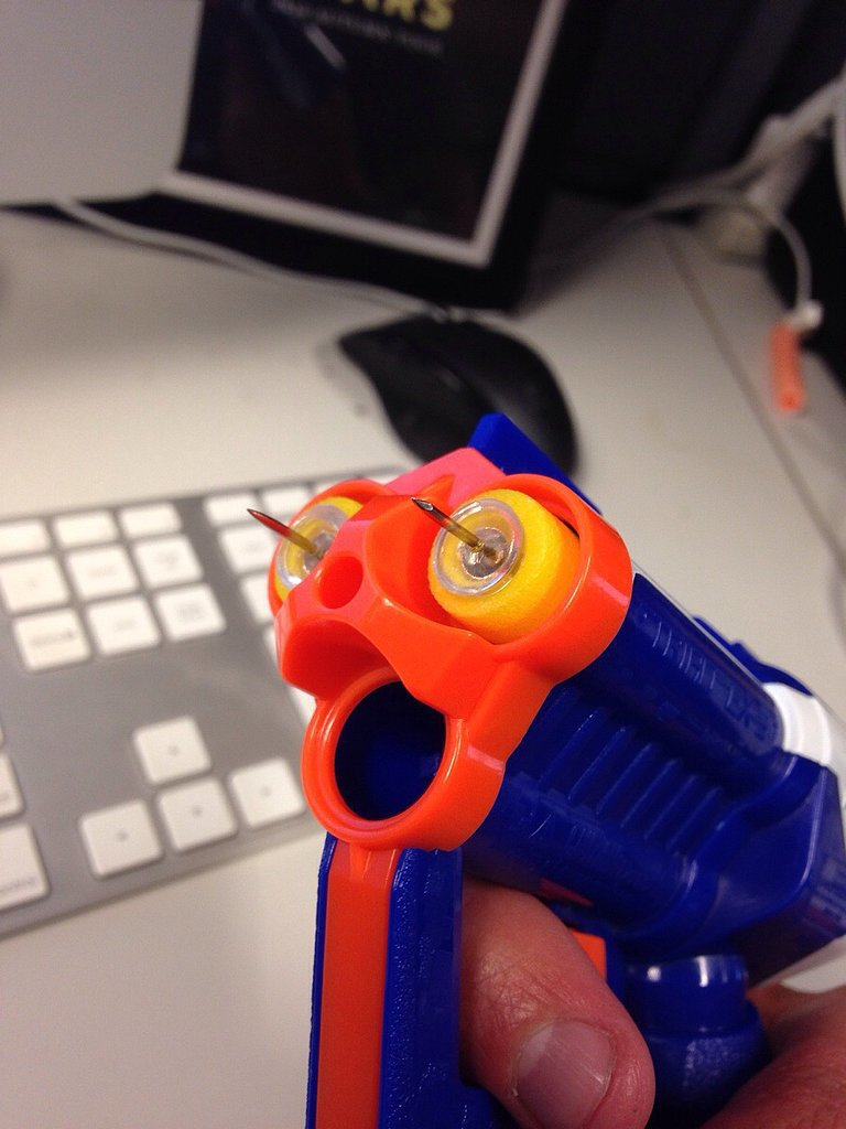 We'd Never Think of Clever Nerf Hacks