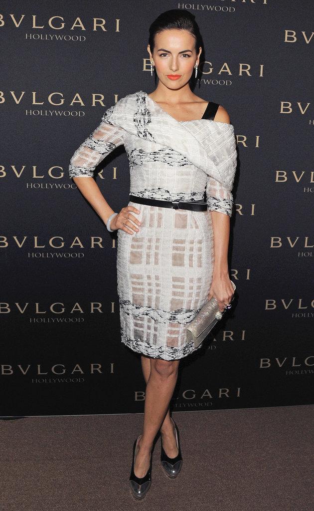 Camilla Belle at the Bulgari Decades of Glamour Oscar Party
