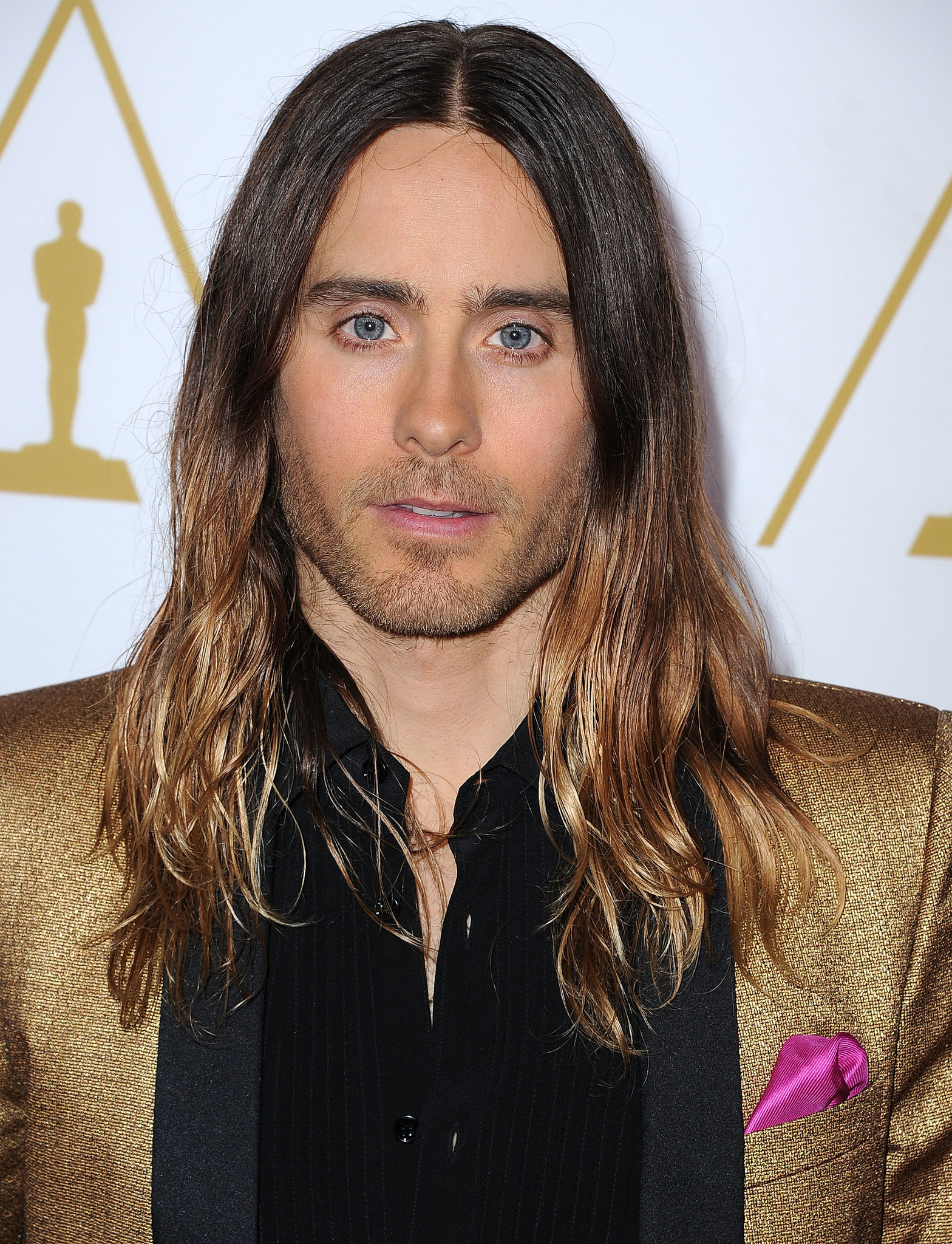 Bun, Wet, or Waves: Help Jared Leto Pick an Oscars Hairstyle!