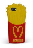 Who can resist french fries? Especially when they come in the form of a Moschino iPhone 5 case ($85).