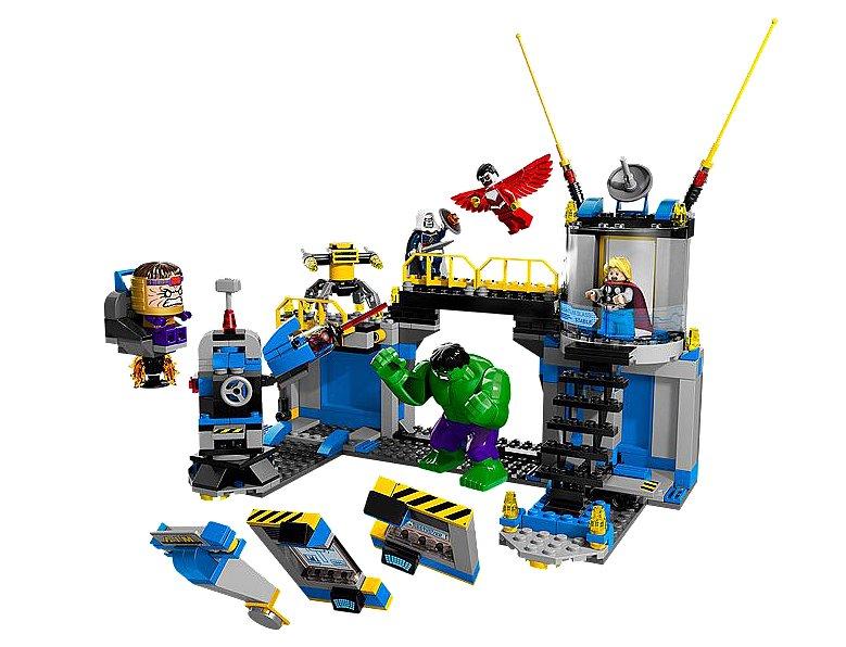 Lego Hulk Lab Smash
