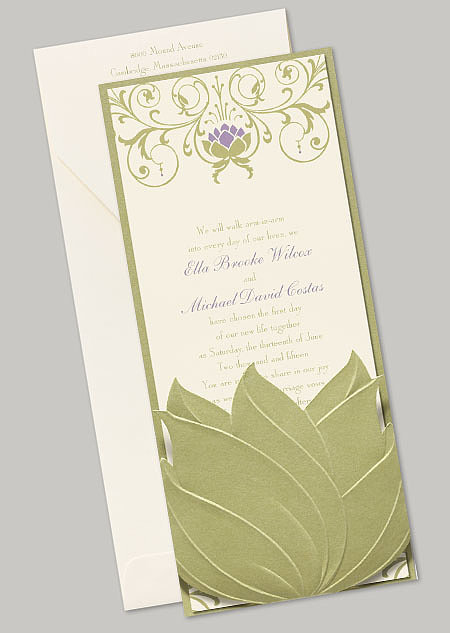 "The Tiana ""Water Lily"" stationery features a pretty water lily design inspired by the film's setting."