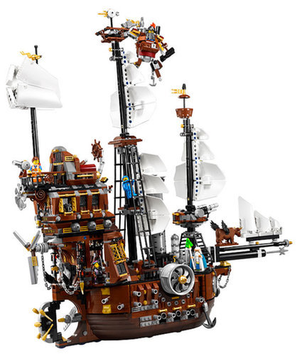 Lego Movie Metal Beard's Sea Cow