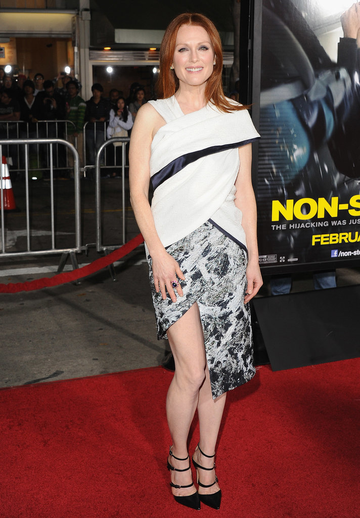 Julianne Moore's Red Carpet Risk