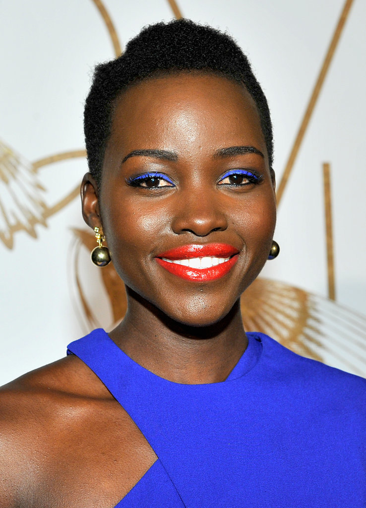 Lupita Nyong'o at the LoveGold Party