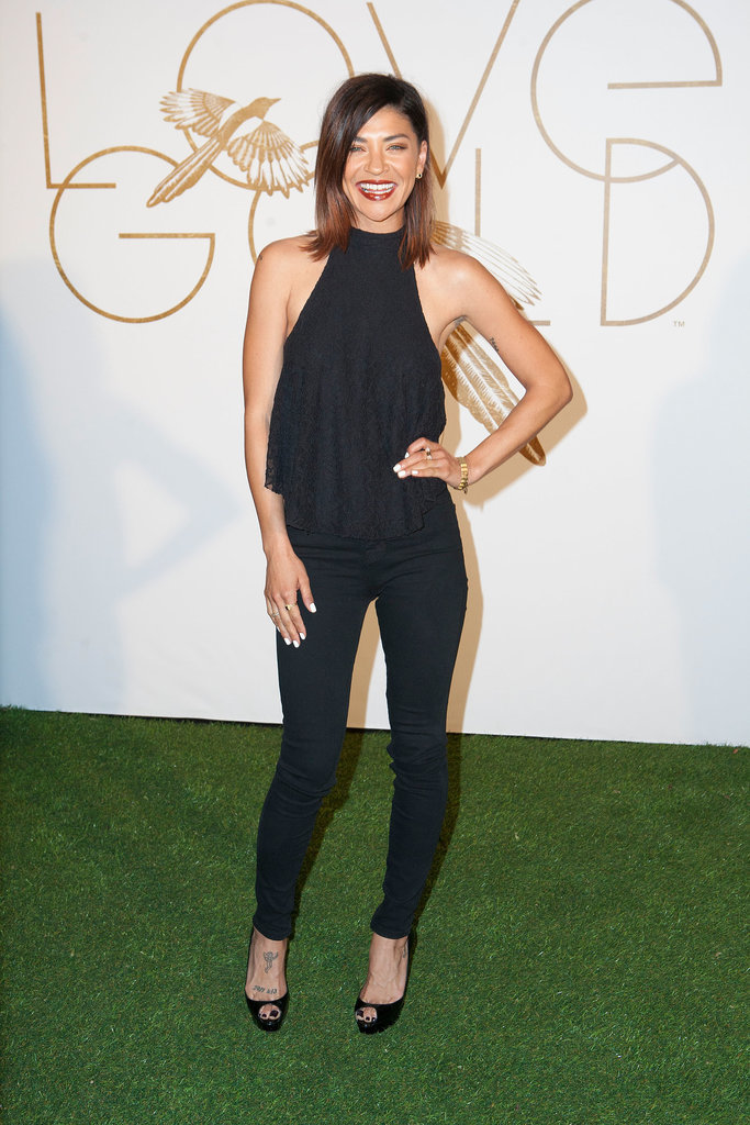 Jessica Szohr at LoveGold Celebrates Lupita Nyong'o