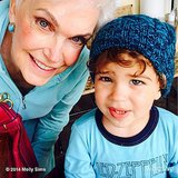 Brooks Stuber enjoyed some quality (and matching!) time with his grandmother. Source: Instagram user mollybsims