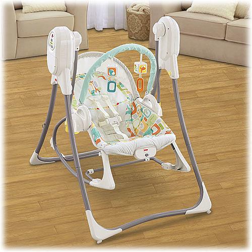 3-in-1 Rocker-Swinger-Rocking-Chair