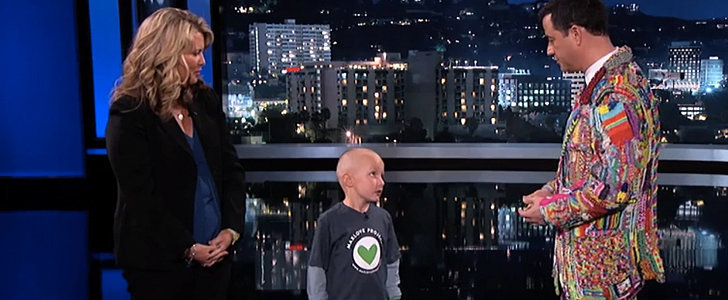 Jimmy Kimmel Is Brought to Tears by an Awesome Kid Fighting Cancer