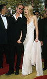 Brad Pitt walked the red carpet with then-girlfriend Gwyneth Paltrow in 1996.