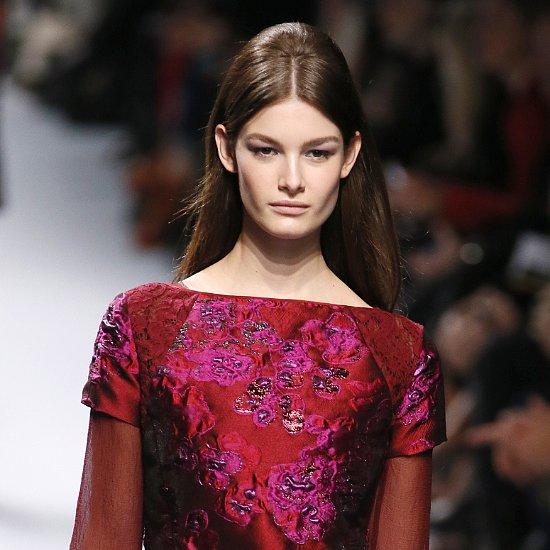 Fall 2014 Paris Fashion Week: Nina Ricci Runway Hair, Beauty