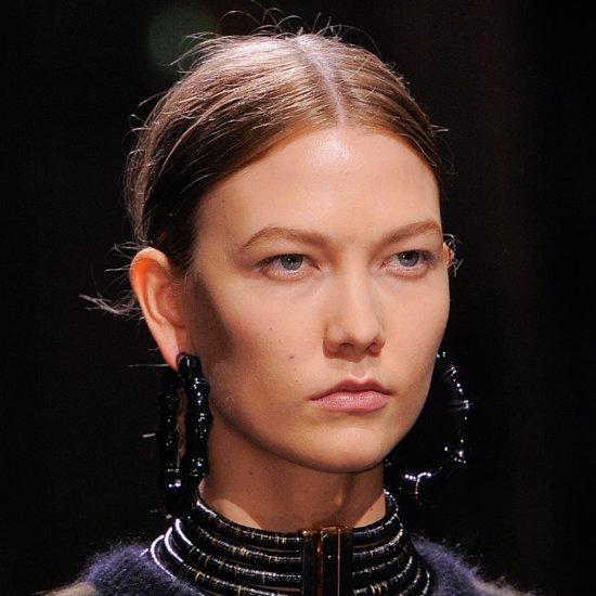 Fall 2014 Paris Fashion Week: Balmain Runway Beauty