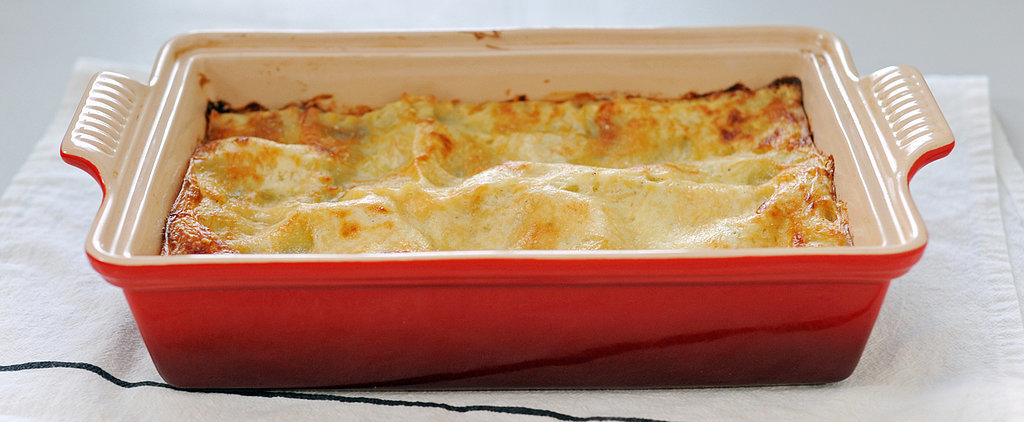 Hunker Down With This Hearty Mushroom-Leek Lasagna