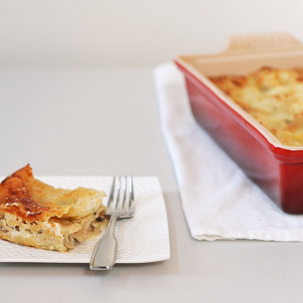 Vegetarian Mushroom Lasagna Recipe | POPSUGAR Food