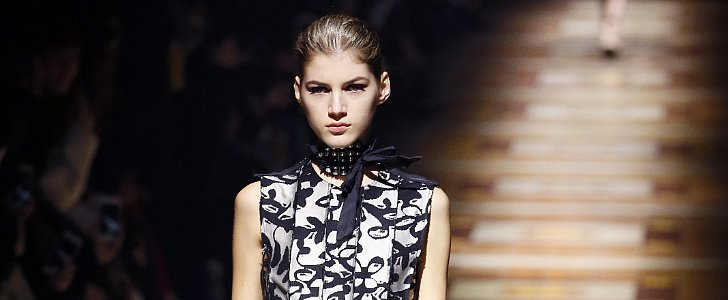 Lanvin Gives Us an Excuse Not to Blow-Dry Our Hair