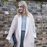 How to Wear Pale Pink and Grey Colour Fashion Trend
