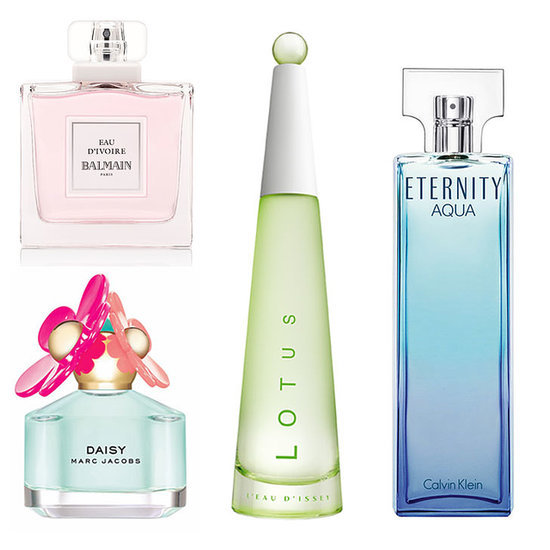 Fresh Floral Summer Fragrances