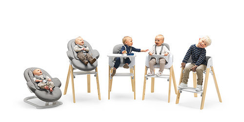 Stokke Steps Three-in-One Bouncer/High Chair