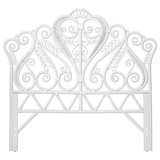 The perfect find for a girlie guest room, this headboard proves that even grown-ups can score at Land of Nod.  — Angela Elias, associate editor