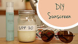 Homemade Physical Mineral Sunscreen