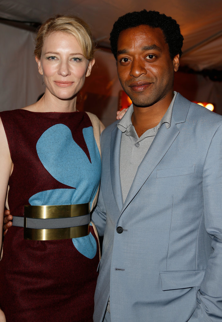 Cate posed for a snap with Chiwetel Ejiofor.