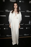 Lana Del Rey opted for elegance at the event.