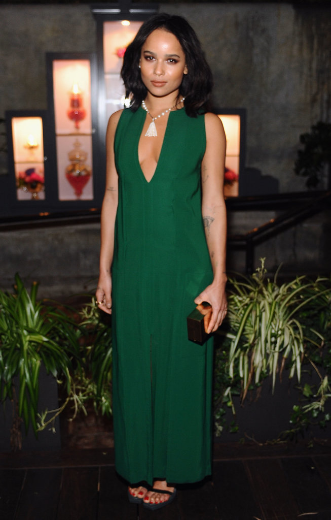 Zoë Kravitz at Vanity Fair Campaign Hollywood's DJ Night