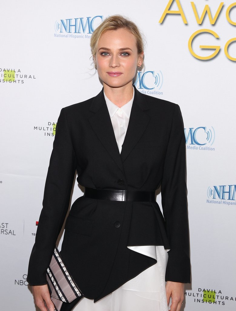 Diane Kruger went with a classic look at the NHMC Impact Awards on Friday.