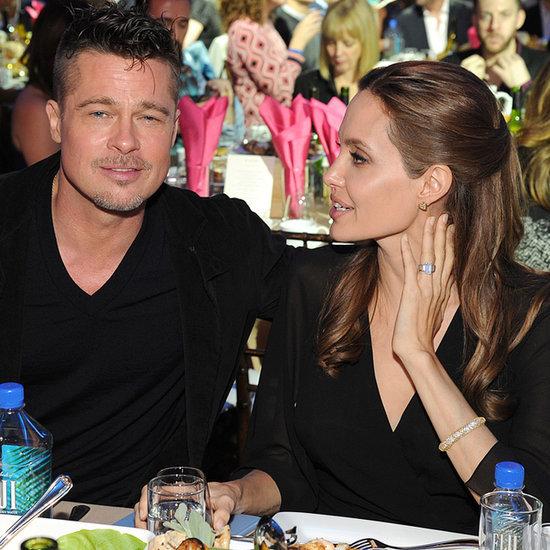 Brad Pitt & Angelina Jolie At 2014 Independent Spirit Awards